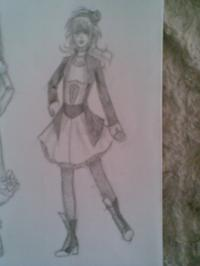My drawing - Rorita dress 3